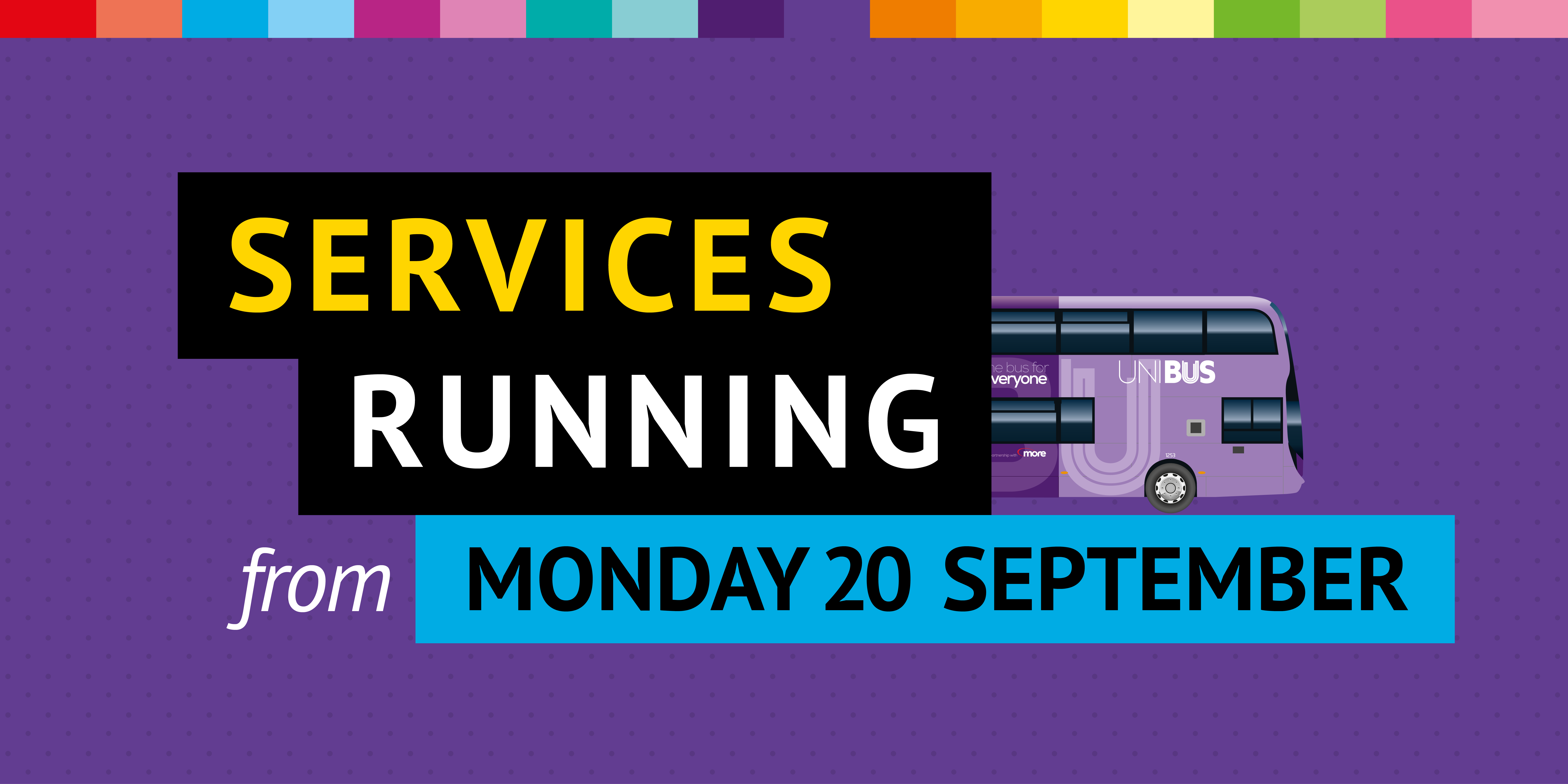 services running from 20th september